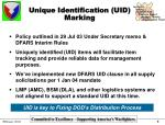 unique identification uid marking