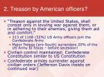 2 treason by american officers