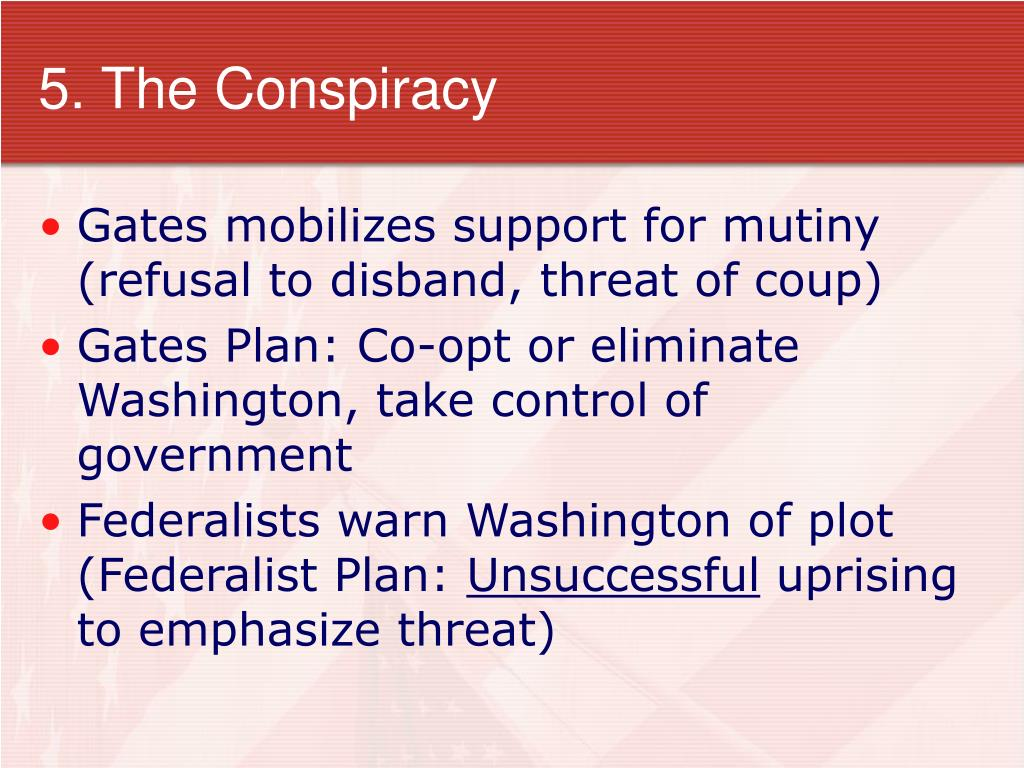 5. The Conspiracy
