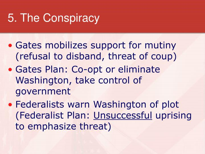 5 the conspiracy