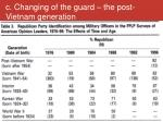 c changing of the guard the post vietnam generation