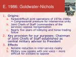 e 1986 goldwater nichols