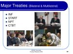 major treaties bilateral multilateral