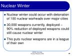 nuclear winter43