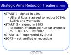 strategic arms reduction treaties start