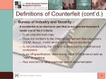 definitions of counterfeit cont d