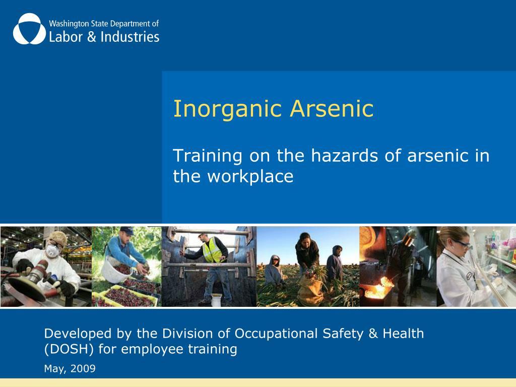 inorganic arsenic l.