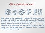 effect of ph of feed water21