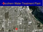 southern water treatment plant