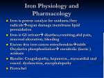 iron physiology and pharmacology6