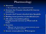 pharmocology