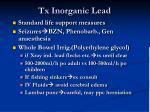 tx inorganic lead