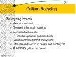 gallium recycling26