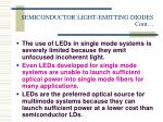 semiconductor light emitting diodes cont