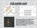 the band gap15
