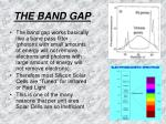 the band gap17