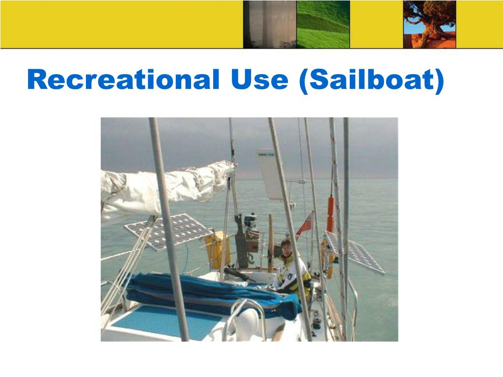 Recreational Use (Sailboat)