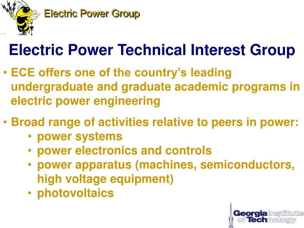 electric power technical interest group l.