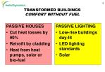 transformed buildings comfort without fuel