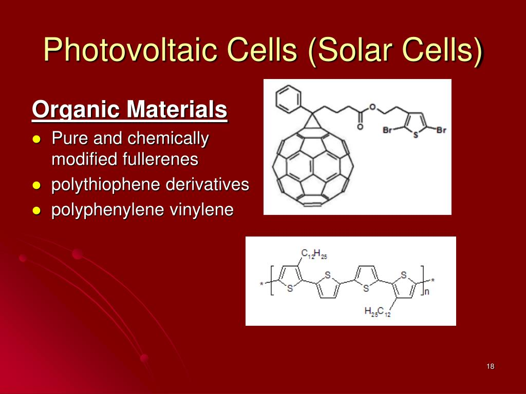 Photovoltaic Cells (Solar Cells)