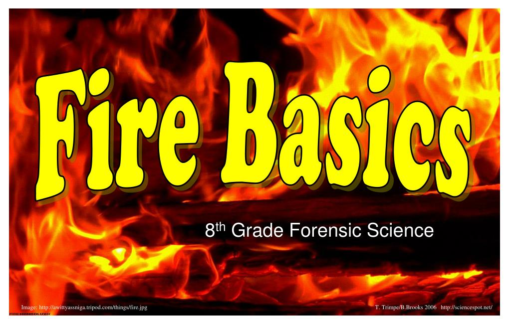 8 th grade forensic science l.