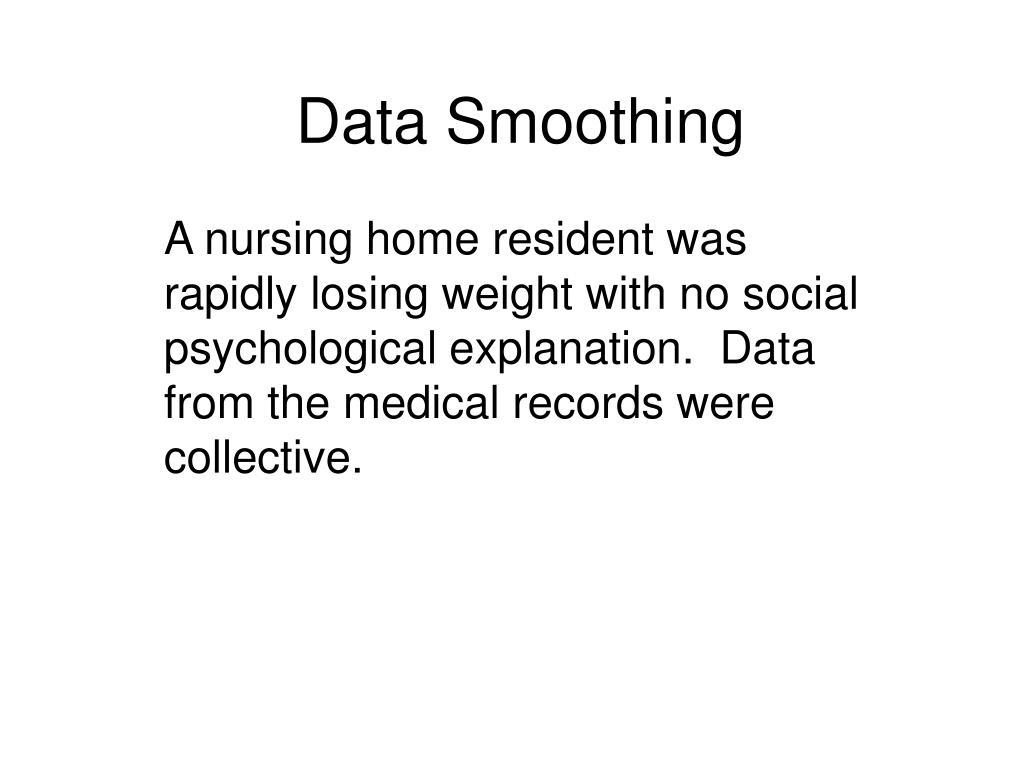 data smoothing l.