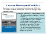 land use planning and flood risk