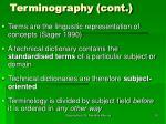 terminography cont26
