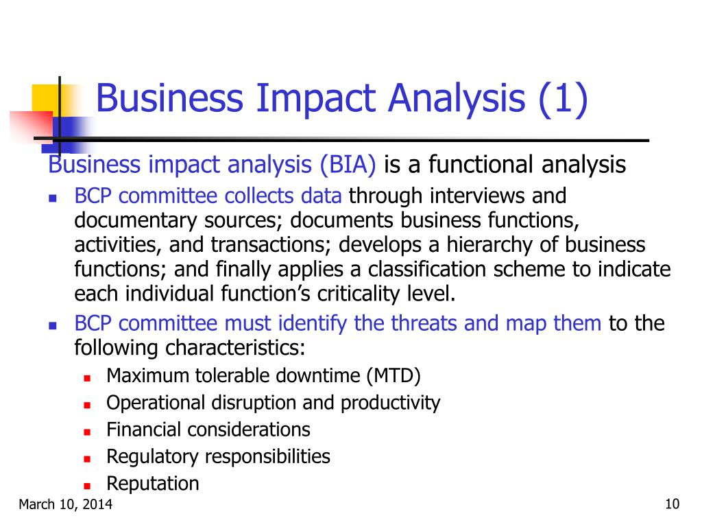 Business Impact Analysis (1)