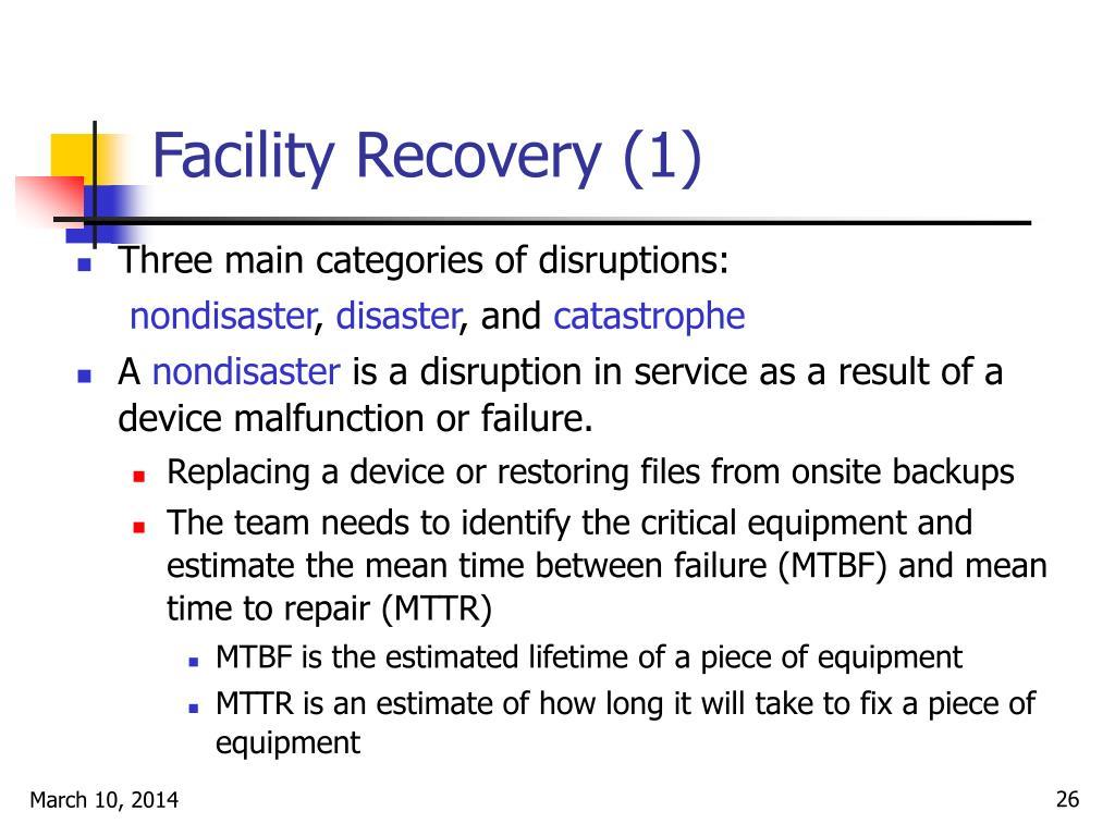 Facility Recovery (1)