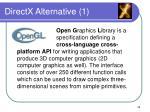 directx alternative 1