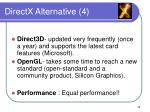 directx alternative 4