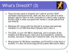 what s directx 3