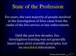 state of the profession5