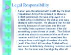 legal responsibility11