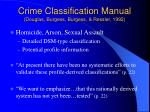 crime classification manual douglas burgess burgess ressler 1992