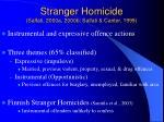 stranger homicide salfati 2000a 2000b salfati canter 1999