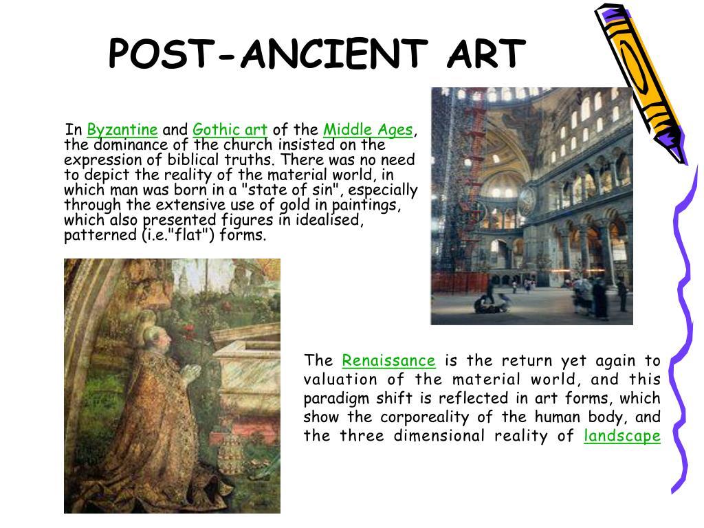 POST-ANCIENT ART