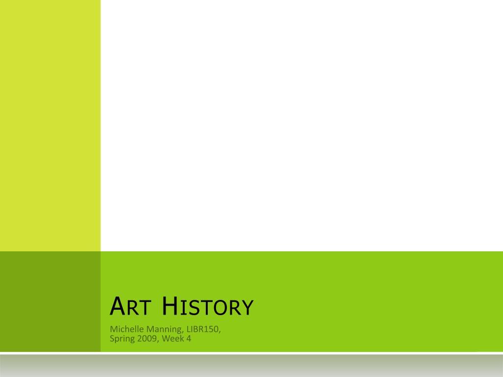 art history l.