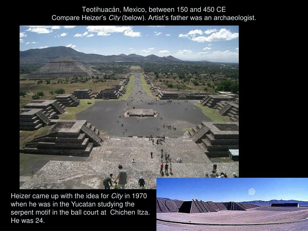 Teotihuacán, Mexico, between 150 and 450 CE