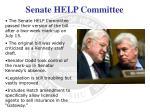senate help committee