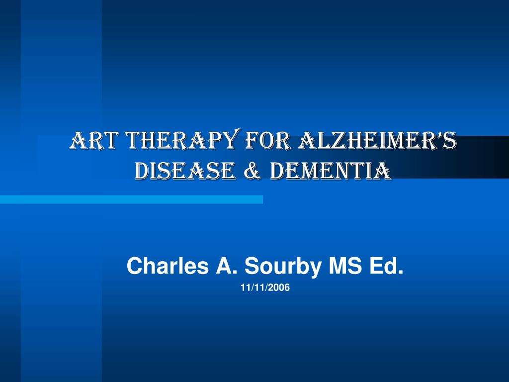 art therapy for alzheimer s disease dementia l.