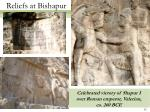 reliefs at bishapur