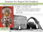 sasanian art shapur i ctesiphon