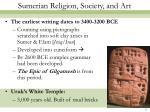 sumerian religion society and art6