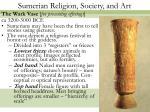 sumerian religion society and art9
