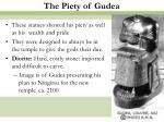 the piety of gudea