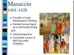masaccio 1401 1428