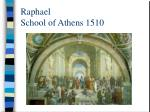 raphael school of athens 1510