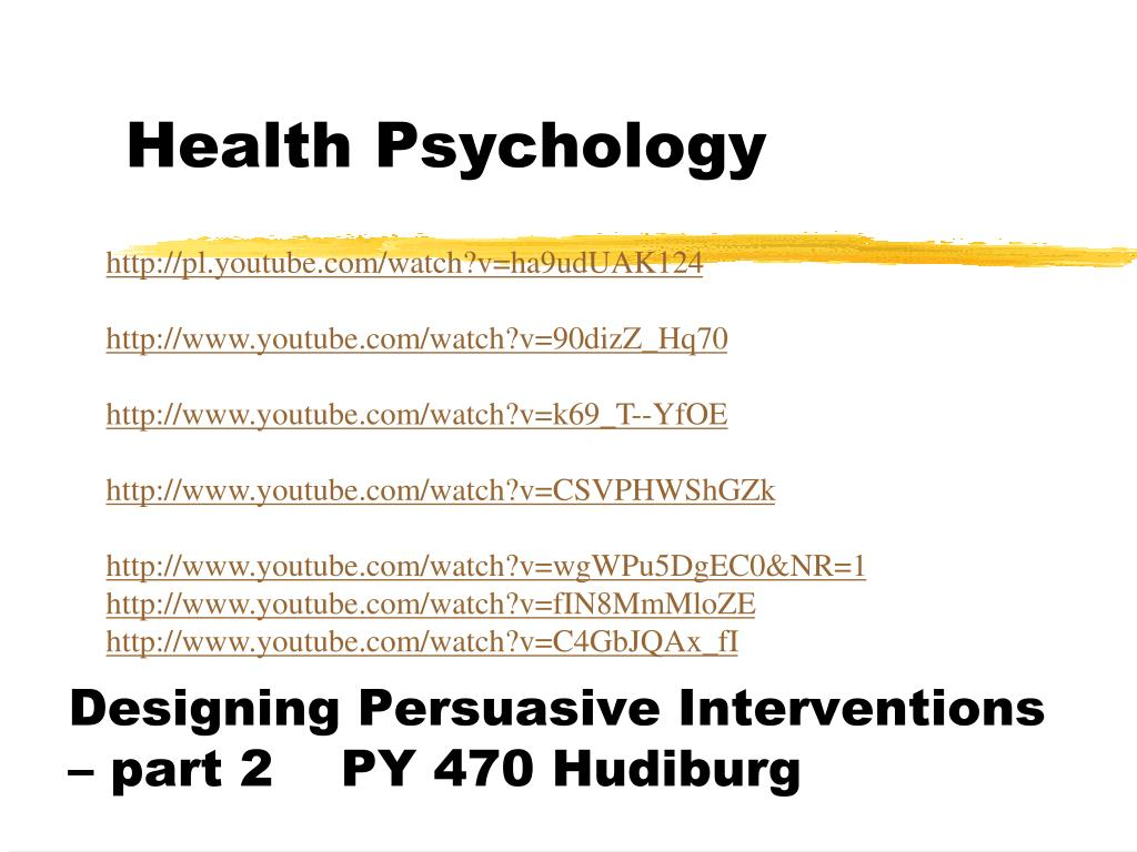 health psychology l.